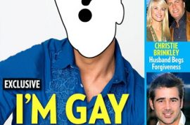 Which major Hollywood Celebrity is 'coming out' May 5?
