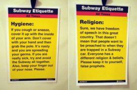 Subway Etiquette.