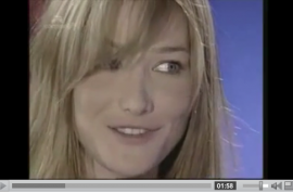 Carla Bruni wants to teach you how to put your finger up her butt.