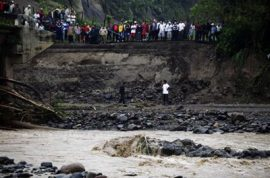 Tropical storm in Central America leaves 115 dead.