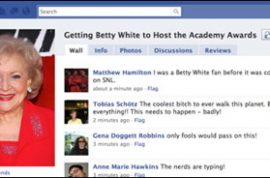 Betty White: 88 Year-Old Media Whore?