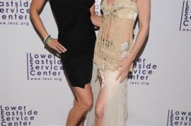 Lower Eastside Service Center Gala with Supermodel Heidi Albertsen.