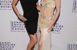 Lower Eastside Service Center Gala with Supermodel Heidi Albertsen.