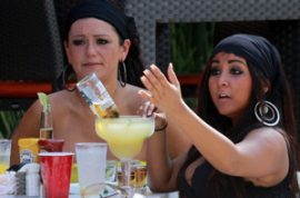 Jwoww and Snooki want to make sure you are paying attention.