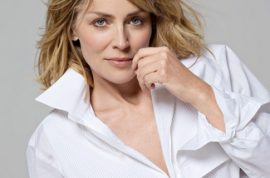 Sharon Stone wants to know why she hasn't had a romp in the hay lately.