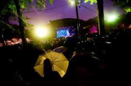 Singing in the Rain with Norah Jones.
