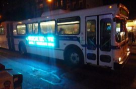 Now bus drivers are getting beat up.