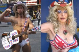 Why can't naked cowboy and naked cowgirl just get along?