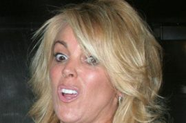 Dina Lohan wants her free ice cream or she's calling the cops.