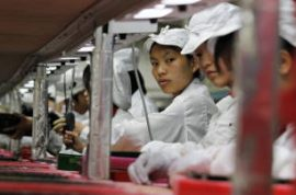 Chinese factories to offer higher wages in response to spate of suicides.