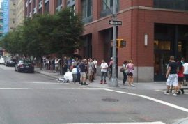 Are you reading this while you are standing in a hot sweaty line to collect your new I- phone?