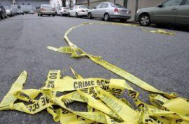 Jimmy Schlager guns down his family in restaurant.