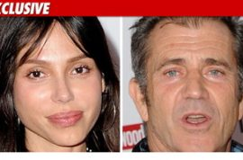 Did Mel Gibson knock his girlfriend's teeth out?