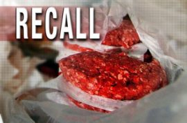 Somewhere in America there is 38700 lbs of tainted burger meat floating around.