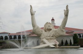 Is the Burning of Touchdown Jesus a Sign from God?