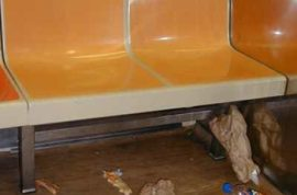 Study declares NYC subways are dirty.