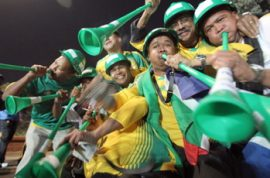 World Cup Soccer- Don't forget to blow your vuvuzelas too!