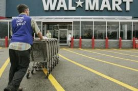 Walmart offers its employees college degrees.