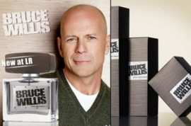 Are you ready to smell like Bruce Willis?