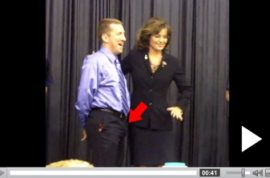 Sarah Palin gives random guy a boner.