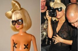 The Lady Gaga Barbie doll is finally here.