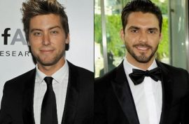 Are Lorenzo Martone and Lance Bass seeing each other?