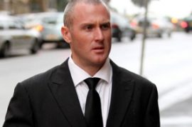 Party cop Andrew Lawrance wants his job back.