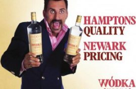 Wass Stevens wants to tell you he's the new face for Wodka Vodka.
