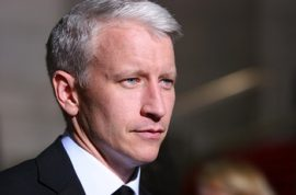 Grey Stallion Anderson Cooper is offered $1 million to get rid of his grey hair.