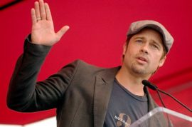 Brad Pitt wants you to know in BP's case the death penalty is just fine.