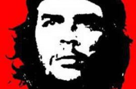 Who knew Che Guevara was capable of laughing.
