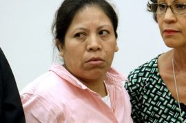 Florencia Vasquez was sentenced to 16 years for killing her daughter with a broomstick