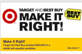 Bullseye: Human Rights Campaign perfect target, but not a best buy