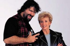 Linda McMahon is now going from wrestling to the senate.