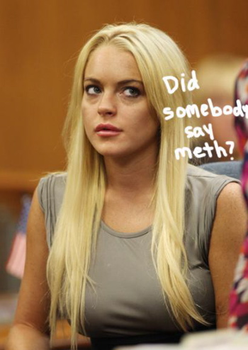 Lindsay Lohan would like to tell you as of this morning ...