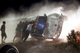Mojave Desert car race kills 8 spectators.