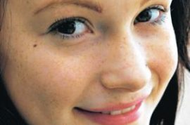14 year old Sophie Watson wants to show you her new semi permanent tattoos on her face. Courtesy of her mother.