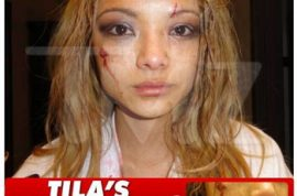 Tila Tequila is attacked during her concert, by the audience.
