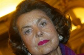 Police raid the home of France's richest woman- Liliane Bettencourt.