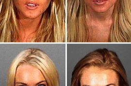Lindsay Lohan has a new mugshot to be proud of.