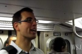 Solomon Lederer is going to annoy the hell out of you on the subway until you become his new best friend.