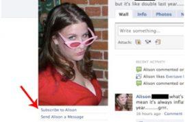 Facebook Now Testing a 'Stalker Button.'