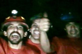 Trapped Chilean Miners Being Groomed for Overnight Celebrity