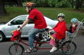 Is it a good idea to tow your kids along when you're a drug dealer?