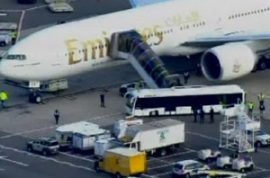 International Search for Suspicious Packages on Cargo plane Induces Terror
