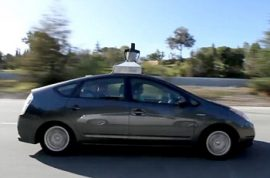 Google Road Tests Self-Driving Cars in Busy California Traffic