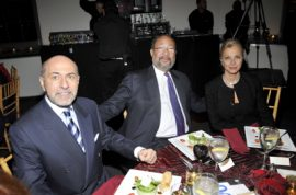 The kindred lot arrive for American Folk Art Museum's 'Advocate for the Arts' Gala