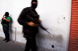 Mexican cartel hires 12 year olds for $3000 to gun down people.