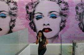 Madonna Opens Pricy Mega-Gym in Mexico City.
