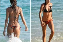 George Clooney wants to show you pictures of his girlfriend in her new bikini…